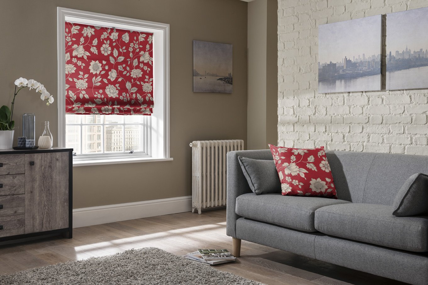 Roman Blinds in Kent from Swale Blinds