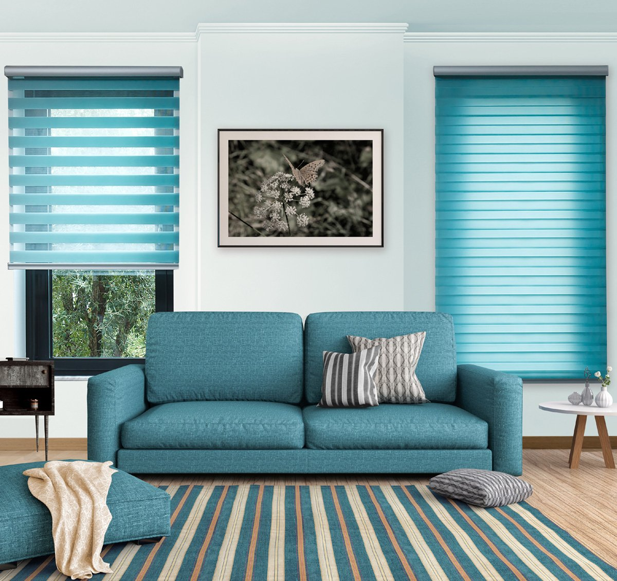 Our Kent Blinds Company fits Tri-Shade Roller Blinds